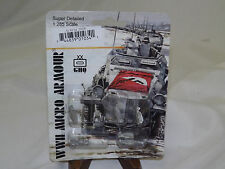 WWII Micro Armour GHQ War Games 1/285 Scale G-34 Sd 250/9