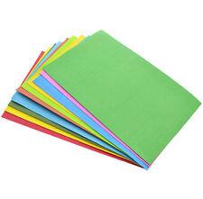 Multicolor EVA Foam 10Pcs Paper Sheets Sponge DIY Craft Kids Handmade Thick A4