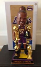 Shaquille Shaq O'Neal Los Angeles LA Lakers NBA Champions Trophies Bobblehead