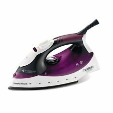 Morphy Richards 300102 Turbo Steam Iron 2000W in Purple/White - Brand NEW