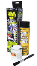 E-TECH BRAKE CALIPER PAINT KIT - GLOSS BLACK