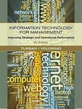 Information Technology for Management: Improving Strategic and Operational Perfo