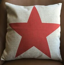 "Vintage ""STAR"" print cushion cover Home Decor pillow case 45cm*45cm gift"