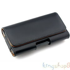 PU Leather Holster Belt Clip Carrying Case Pouch For Samsung Galaxy Note 4 N9100