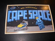 LEGO CAPE SPACE Art 4X6 Postcard like poster print Steve Thomas