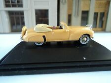 Oxford  1941   Lincoln  Continental  Convertible   Rockingham  Tan  1/87  HO car