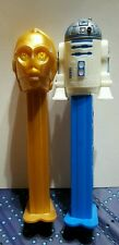 Lot Of 2 Star Wars Pez Dispensers R2-D2 and C-3PO loose