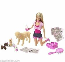 Barbie Doll Toffee and Puppies Year of Make 2007 New Rare