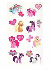 My Little Pony Tattoos, perfect for party bag fillers, 1 sheet 8 squares
