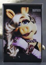 Miss Piggy Magazine Advertising - Fridge / Locker Magnet. The Muppets