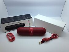 LOT OF 100 NEW BLUETOOTH SMOOTH PORTABLE STEREO SPEAKER WIRELESS UNIVERSAL RED