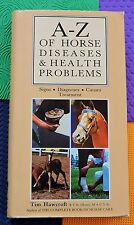 HORSE BOOK Equine DISEASES & HEALTH PROBLEMS signs/diagnoses/causes/treatment