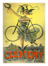 "Bicycle Poster by PAL 11"" x 14""   1890's"
