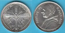 500 LIRE 1968 ANNO VI - PAOLO VI
