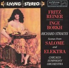 Strauss: Scenes from Salome & Elektra Richard Strauss, Fritz Reiner, Chicago Sy