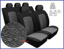 Tailored Full Set Seat Covers For Ford Galaxy I 7 seater 1995 - 2006  (BW)