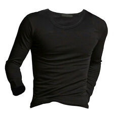 Fashion Winter Warm Men's Slim Fit Long Sleeve T-shirts Tee Shirt Tops Pullover