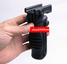 Foldable Folding Hunting Foregrip Fore Grip 20mm Picatinny Rail Weaver Mount