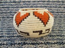Native American/Blackfoot Indian coiled basket; Idaho/Shoshone tribe vintage ??