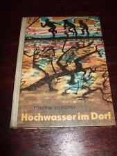 Hochwasser im Dorf,J.Nowotny,1963,1.Auflg.,DDR-Kinderbuch,Bilder s.Text