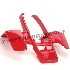 NEW YAMAHA BANSHEE YFZ 350 PLASTIC RED STANDARD FRONT FENDER PLASTICS