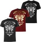 Tapout Foil Print T-Shirt Gr. S M L XL 2XL 3XL Tee MMA UFC Mixed Martial neu