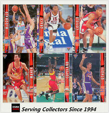 1995 Futera NBL Australian Basketball Trading Cards Base Set (110)