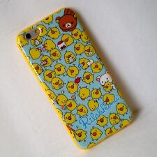 Rilakkuma Kiiroitori Yellow TPU Soft Silicone iPhone 6 6s PLUS Back Cover Case