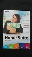 NEW Corel Home Suite 5 Essential Office Photo-Editing & Fun Tools For Your PC