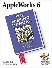 AppleWorks 6 : The Missing Manual, Jim Elferdink, David Reynolds