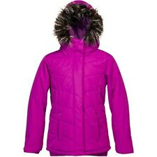 Roxy Quinn Girls Snowboard Jacket (M) Amaranth Purple