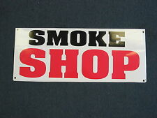 SMOKE SHOP Banner Sign NEW XL Extra Large Size 4 Pipes & Supplies Suply Store