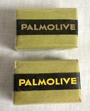 2 Vintage Bars Palmolive Hand Bath Bar Soap Sealed in Original Packaging