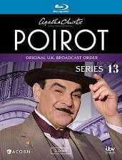 3 Blu-ray 5 Movie Agatha Christie's Poirot Series 13: David Suchet Fraser Moran
