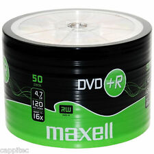 MAXELL DVD+R 4.7 Go 16x max matt gold top blanc disques 50 pack, mbipg101 R05 colorant