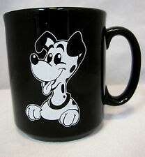 101 Dalmatian Mug Dogs Coffee Tea Cocoa Cup Container Designed in England