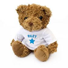 Nuevo-Riley-Oso de Peluche-Adorable Y Tierno-Regalo Presente Cumpleaños Navidad