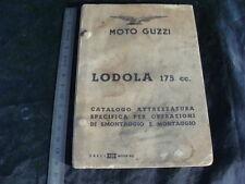 MANUALE ATTREZZATURA SMONTAGGIO MONTAGGIO MOTO GUZZI LODOLA 175 OLD MADE  ITALY