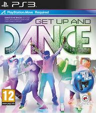 SONY PS3 GET UP AND DANCE MOVE BRAND NEW & FACTORY SEALED! BARGAIN