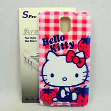 For Samsung Galaxy Note 3 Hello Kitty TPU Phone Case + Spro Screen Protector