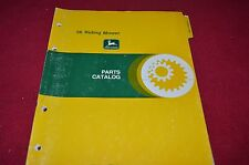 John Deere 56 Riding Mower Dealer's Parts Book Manual PANC