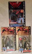 Lot of 3 Spider-Man Movie series Doctor Octopus Tobey Maguire Toy Biz NIP Doc Oc