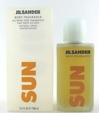 (GRUNDPREIS 99,90€/100ML) JIL SANDER SUN FOR WOMAN BODY FRAGRANCE ALCOHOL FREE