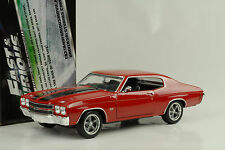 1970 Chevrolet Chevelle SS Fast and & Furious IV red rot 1:18 Greenlight