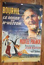 BOURVIL , LE ROSIER DE MME HUSSON ,MARCEL PAGNOL ,affiche Film