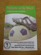 20/04/2011 combinato contee LEGA riserva finale di Coppa: TALPE Valley Sutton comune
