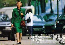 Coupure de Presse Clipping 1988 (4 pages) Lecon de Courage de Francoise Besse