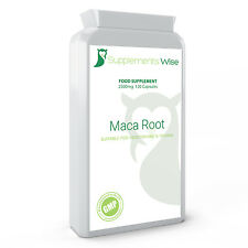 Maca Root Capsules 120 x 2500mg HIGH STRENGTH Fertility Libido Supplement