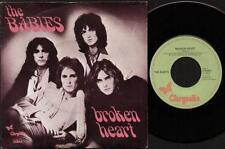 """BABYS Broken Heart  7"""" Ps, Dutch Issue, B/W Wild Man, 11 817 (Vg/Vg)"""