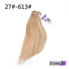 "18"" Silky Straight 105g Claw Easy Clip in Ponytail Human Remy Hair Extensions"